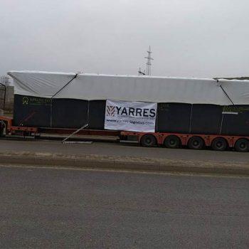 Schwertransport 60 tonner Aserbaidschan
